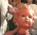 Puppenkopf nach Reparatur